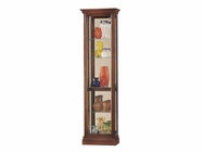 Howard Miller 680245 GREGORY Windsor Cherry Collectors Cabinet-Floor