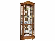Howard Miller 680250 JAMESTOWN II Yorkshire Oak Collectors Cabinet-Floor