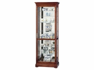 Howard Miller 680286 CHESTERFIELD Windsor Cherry Collectors Cabinet-Floor