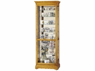 Howard Miller 680288 CHESTERFIELD II Golden Oak Collectors Cabinet-Floor