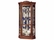 Howard Miller 680290 EMBASSY II Embassy Cherry Collectors Cabinet-Floor