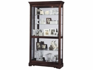 Howard Miller 680337 DUBLIN Windsor Cherry Collectors Cabinet-Floor