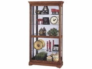 Howard Miller 680339 DONEGAL Yorkshire Oak Collectors Cabinet-Floor