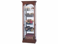 Howard Miller 680340 PORTLAND Windsor Cherry Collectors Cabinet-Floor