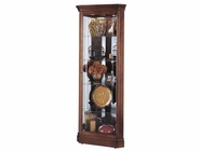 Howard Miller 680345 LYNWOOD Windsor Cherry Collectors Cabinet-Floor