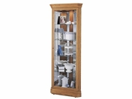 Howard Miller 680347 HAMMOND Golden Oak Collectors Cabinet-Floor
