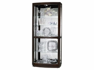 Howard Miller 680395 BRADINGTON Black Coffee Collectors Cabinet-Floor