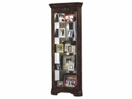 Howard Miller 680404 CONSTANCE Hampton Cherry Collectors Cabinet-Floor