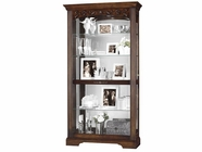 Howard Miller 680445 HARTLAND Hampton Cherry Collectors Cabinet-Floor