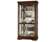 Howard Miller 680479 ANDREUS TUSCANY CH Tuscany Cherry Collectors Cabinet-Floor