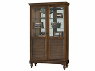 Howard Miller 680512 DARBY Cherry Bordeaux Collectors Cabinet-Floor