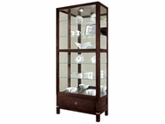 Howard Miller 680515 WILLIAMSON Espresso Collectors Cabinet-Floor