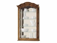 Howard Miller 685102 VANCOUVER II Yorkshire Oak Collectors Cabinet-Wall
