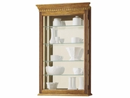 Howard Miller 685106 MONTREAL Golden Oak Collectors Cabinet-Wall