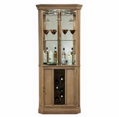 Howard Miller 690028 Bairmont Driftwood Collectors Cabinet-Wine/Spirit