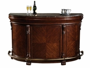 Howard Miller 693001 NIAGARA BAR Rustic Cherry Collectors Cabinet-Wine/Spirit