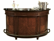 Howard Miller 693026 CORTLAND BAR Tuscany Cherry Collectors Cabinet-Wine/Spirit