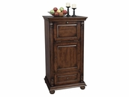 Howard Miller 695078 COGNAC Hampton Cherry Collectors Cabinet-Wine/Spirit