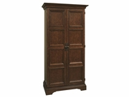 Howard Miller 695110 RIDGEVILLE Hampton Cherry Collectors Cabinet-Wine/Spirit