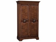 Howard Miller 695114 BAROSSA VALLEY Hampton Cherry Collectors Cabinet-Wine/Spirit