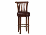Howard Miller 697000 ITHACA BARSTOOL Hampton Cherry Collectors Cabinet-Wine/Spirit