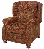 JACKSON 4347-11 Belmont Reclining Chair in 2049-14 Red