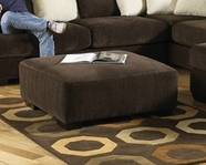 JACKSON 4429-28 Axis Cocktail Ottoman in 2571-09 Chocolate