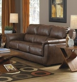 JACKSON 4490-03 Verona Sofa in 1223-09/3023-09 Chestnut