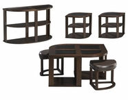 JACKSON 891-40-50-80 Cocktail-End-Sofa-Table Set