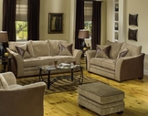 Jackson Furniture 3262 Perimeter Fabric Sofa Set