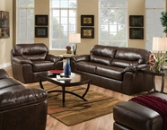 Jackson Furniture 4430-02-03 Brantley Leather Sofa Set