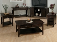 Jofran 081-1-3-7 HEIRLOOM OAK FINISH OCCASIONAL TABLE SET