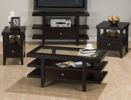 Jofran 091-1-3-7 MARLON WENGE FINISH OCCASIONAL TABLE SET