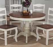 Jofran 141-42B-T MADISON COUNTY PEDESTAL TABLE