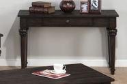 Jofran 256-4 SAVANNAH OAK FINISH SOFA TABLE with 1 DRAWER