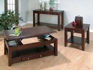 Jofran 280-1-3-4 VINTNER MERLOT FINISH OCCASIONAL TABLE SET