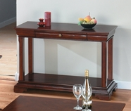 Jofran 299-4 Miniatures-Regal Cherry Finish Sofa Table With Shelf And Drawer