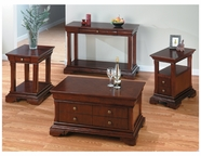Jofran 299-5-3-4-7 MINIATURES - REGAL CHERRY FINISH OCCASIONAL TABLE SET