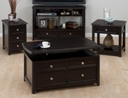 Jofran 319-3-4-5-7 CORRANADO ESPRESSO FINISH OCCASIONAL TABLE SET