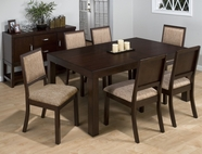 Jofran 326-72-4x424KD CAPPUCCINO CHERRY FINISH DINING ROOM SET
