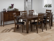 Jofran 337-84-4X923KD TAYLOR CHERRY FINISH RECTANGLE DINING ROOM SET