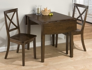 Jofran 342-48-4X915KD TAYLOR CHERRY FINISH DOUBLE DROP LEAF TABLE SET