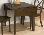 Jofran 342-48 TAYLOR CHERRY FINISH DOUBLE DROP LEAF TABLE