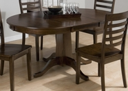 Jofran 342-60B-T TAYLOR CHERRY FINISH CENTER PEDESTAL TABLE