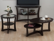 Jofran 347-1-3-4 SKYLAH ESPRESSO FINISH OCCASIONAL TABLE SET