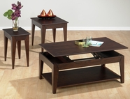 Jofran 401-1-3-7 ALBION OAK FINISH OCCASIONAL TABLE SET