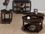 Jofran 436-2-3-4 RIVERSIDE BROWN WALNUT FINISH OCCASIONAL TABLE SET