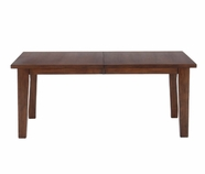 Jofran 461-96 CIRRUS OAK FINISH RECTANGLE TABLE with 2 TAKE OUT LEAVES, 120mm LEGS, 40mm EDGE