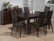 Jofran 471-72-4x374KD RYDER ASH FINISH RECTANGLE BUTTERFLY LEAF TABLE SET