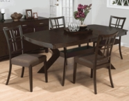 Jofran 471-78B-T RYDER ASH FINISH RECTANGLE BUTTERFLY LEAF TABLE